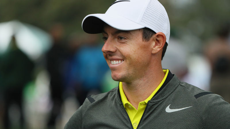 McIlroy returns with wedding ring, new clubs