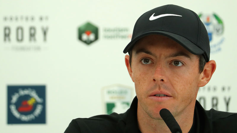 Rory McIlroy's wife now holds his Twitter password