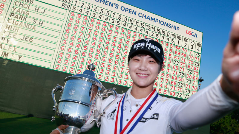 Park clinches US Women's Open for first major title