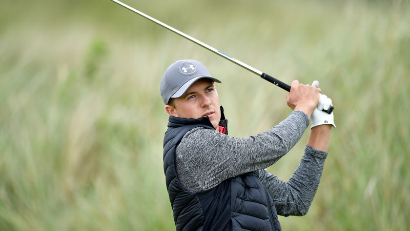 Dustin Johnson and Jordan Spieth favourites as British Open begins