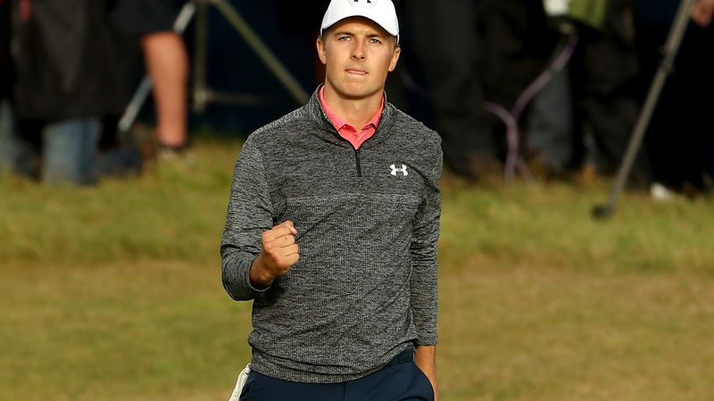 The Open: Jordan Spieth has Grand Slam in his sights