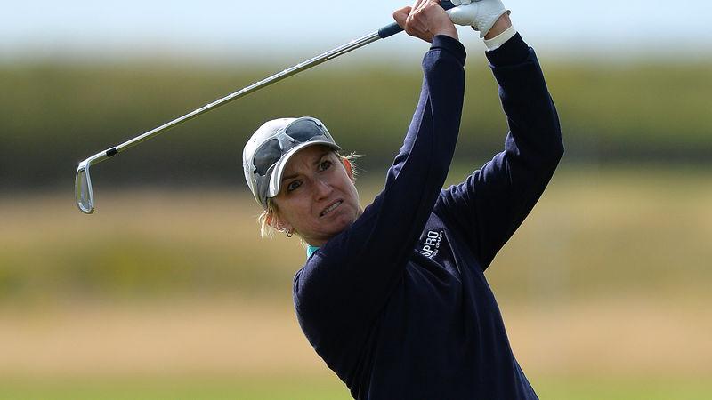 Carly Booth rockets up Ladies Scottish leaderboard