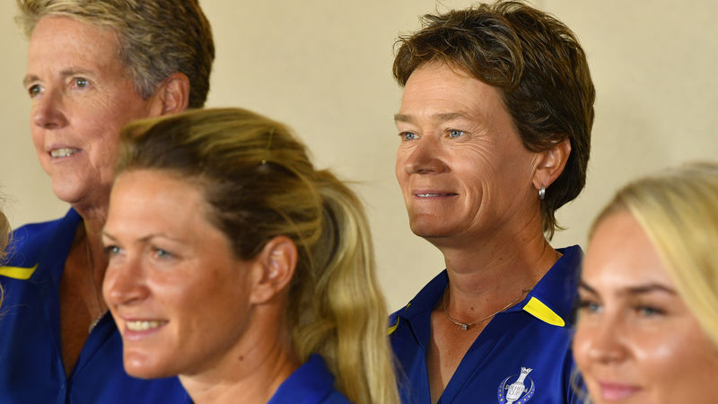 Solheim cup: Catriona Matthew steps into Solheim void for Europe