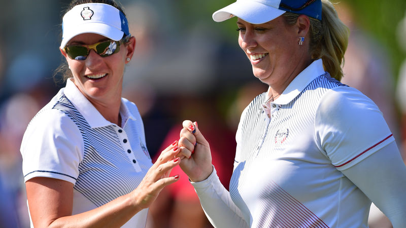 Solheim Cup 2017: Europe lead United States after foursomes