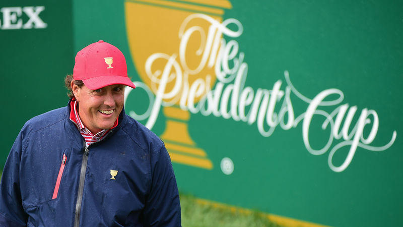 Phil Mickelson earns Presidents Cup pick from USA captain Steve Stricker