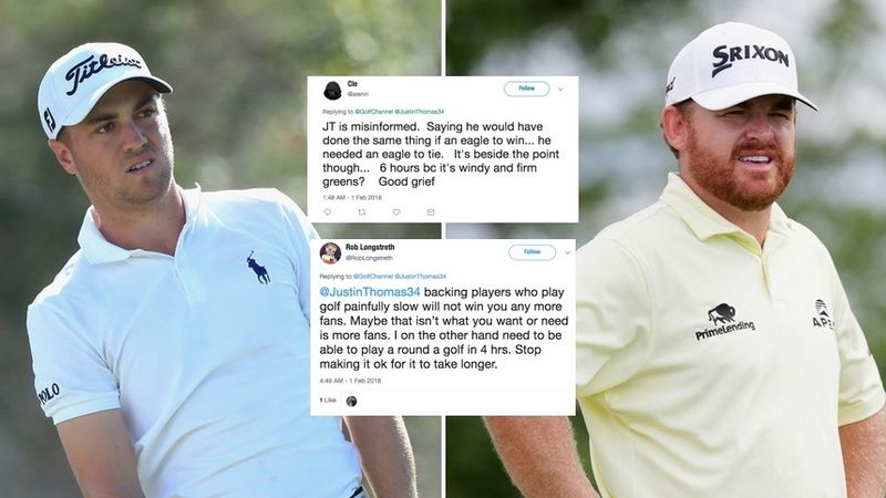 Justin Thomas on JB Holmes: 'I have his back all day'
