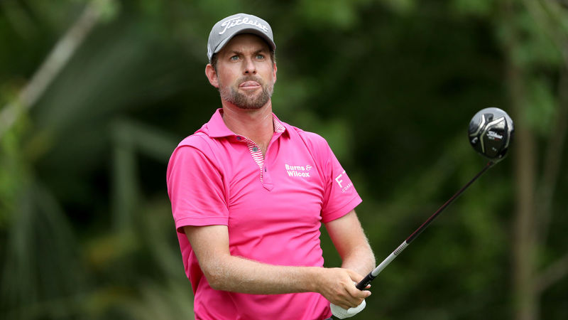 Webb Simpson eases to four-shot victory at Players Championship