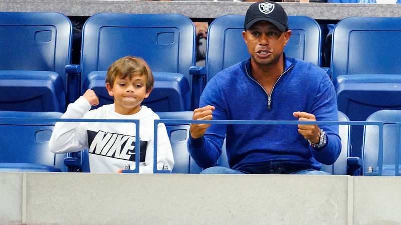 Tiger Woods and son Charlie to team-up in first pro…