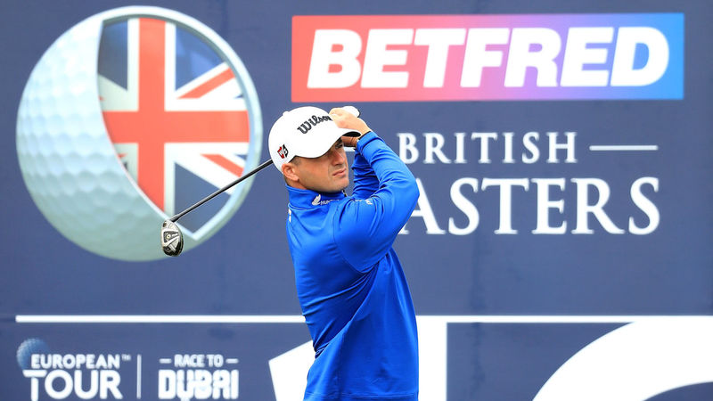Paratore claims halfway lead at British Masters, SA's Harding in third