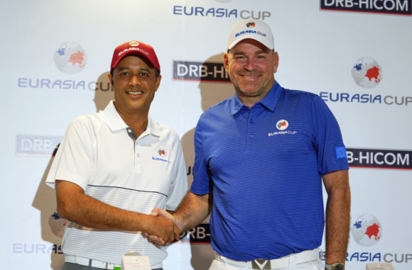 Asia leads Europe by 1 point after first day of EurAsia Cup