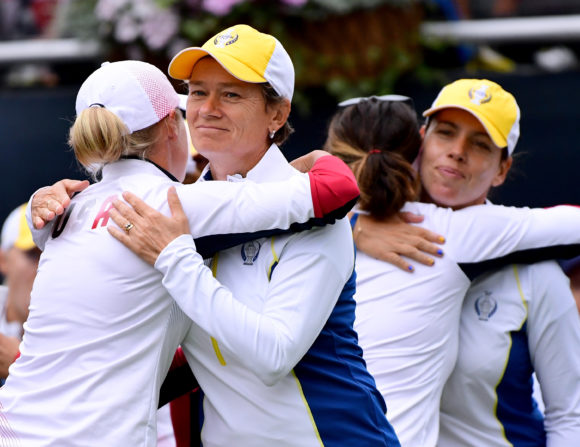 Catriona Matthew to lead Europe in Solheim Cup on home soil