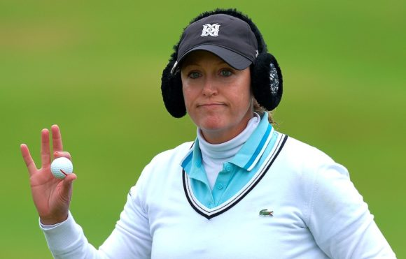 Birdie blitz puts Karrie Webb in Ladies Scottish lead