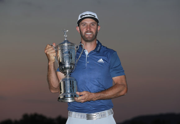 Dustin Johnson heading to US Open after birth of second child