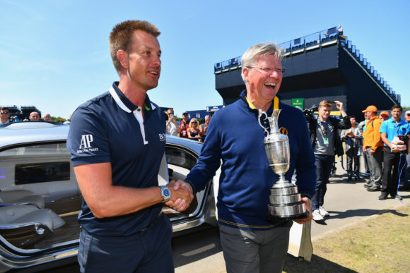 Pep talk from caddie inspires Rory McIlroy at British Open