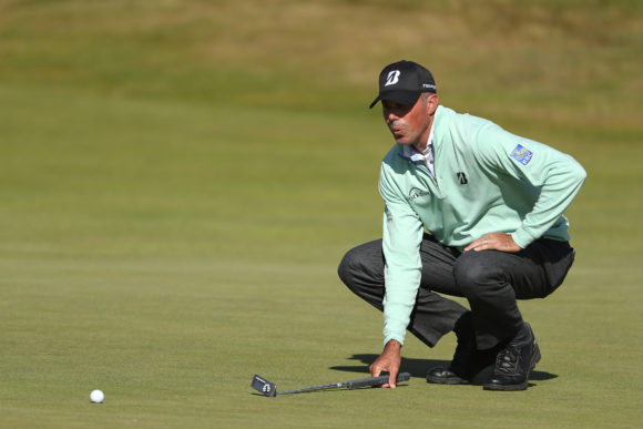 Kuchar claims share of British Open lead